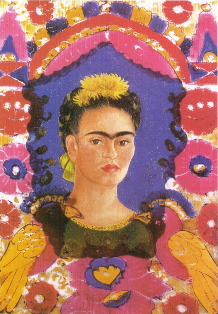 Kahlo-self-portrait-the-frame-19381